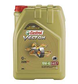 Vecton_10W-40_E4_E7_Castrol, моторное масло, Vecton 10W-40, 10W-40, кастрол, castrol