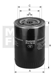 Фильтр масляный W936/2 (P550024)