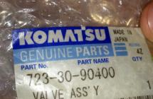 Клапан Komatsu 723-30-90400, PC160-6, PC120-6